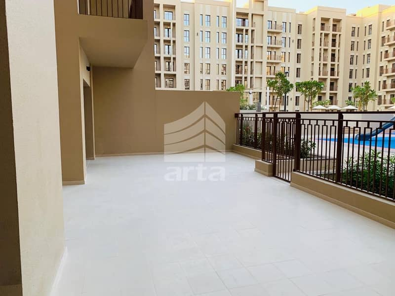 10 Spacious Apartment | Rented| Pool View