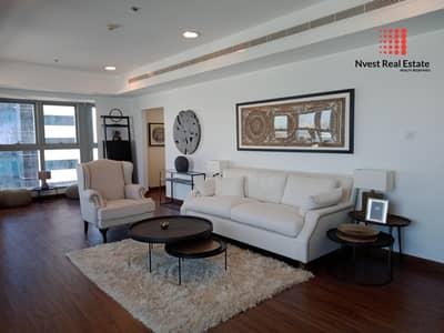 3 Bedroom Flat for Rent in Dubai Marina, Dubai - Fully Furnished | Sea View | Near Tram |  High Floor