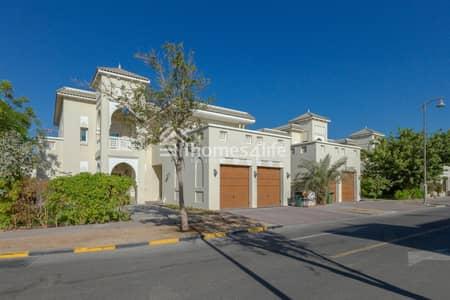 فیلا 5 غرف نوم للبيع في الفرجان، دبي - Excellent location| Vacant | corner unit| Type B| Qourtaj