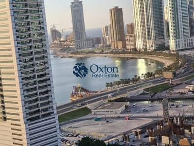 شقة 2 غرفة نوم للايجار في التعاون، الشارقة - Sea view 2bhk in Al Taawun Sharjah