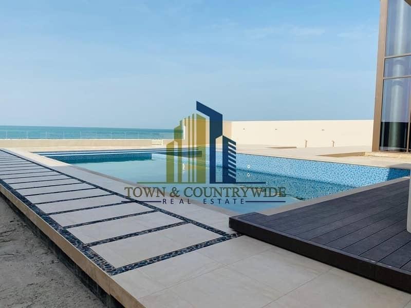 2 Excellent Sea view 7BR-  Villa with Pool @ HIDD Saadiyat