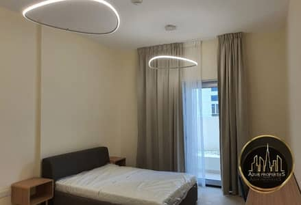 استوديو  للبيع في الفرجان، دبي - Furnished rented studio w/ balcony  chiller free