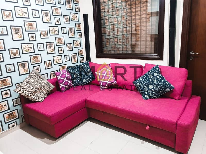 2 Stunning Sea View | Studio W Partition| Fully Furnished