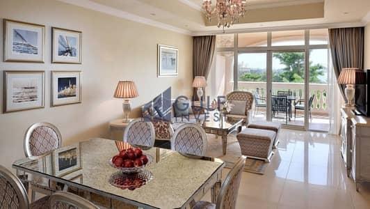 شقة 2 غرفة نوم للبيع في نخلة جميرا، دبي - Reside in 5* Hotel Facility on the Palm / Sea view