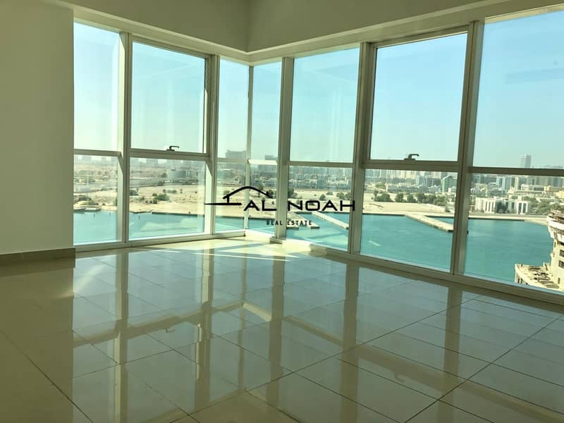 Full Sea View   Largest 3 Bedrooms  with Maids!
