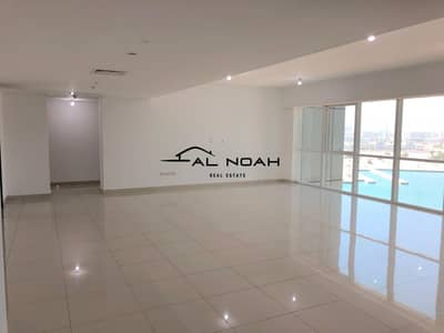 3 Bedroom Flat for Rent in Al Reem Island, Abu Dhabi - Full Sea View | Largest 3 Bedrooms  with Maids!