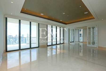 4 Bedroom Penthouse for Rent in Downtown Dubai, Dubai - High Floor | Sublime Downtown Views | Whole floor