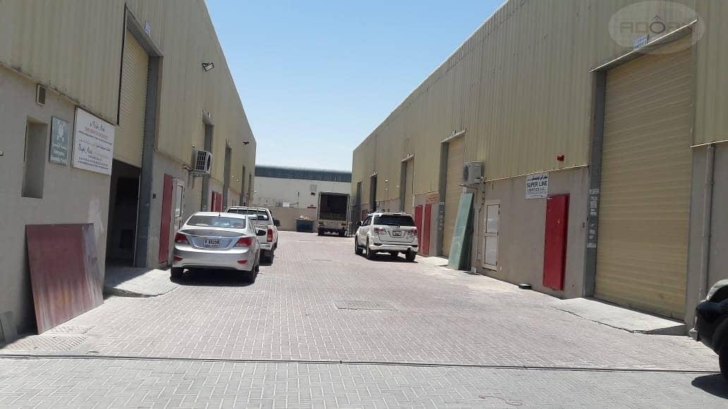8 Al qusais Commercial warehouse 4609 sq ft for rent