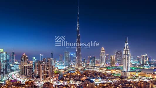 2 Bedroom Apartment for Sale in Downtown Dubai, Dubai - Luxury Apartment with pool view