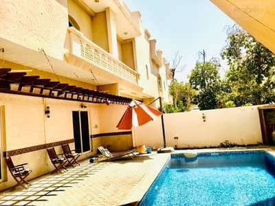 3 Bedroom Villa for Rent in Jumeirah, Dubai - High Quality 3 bedroom villa with private pool in Jumeirah 2