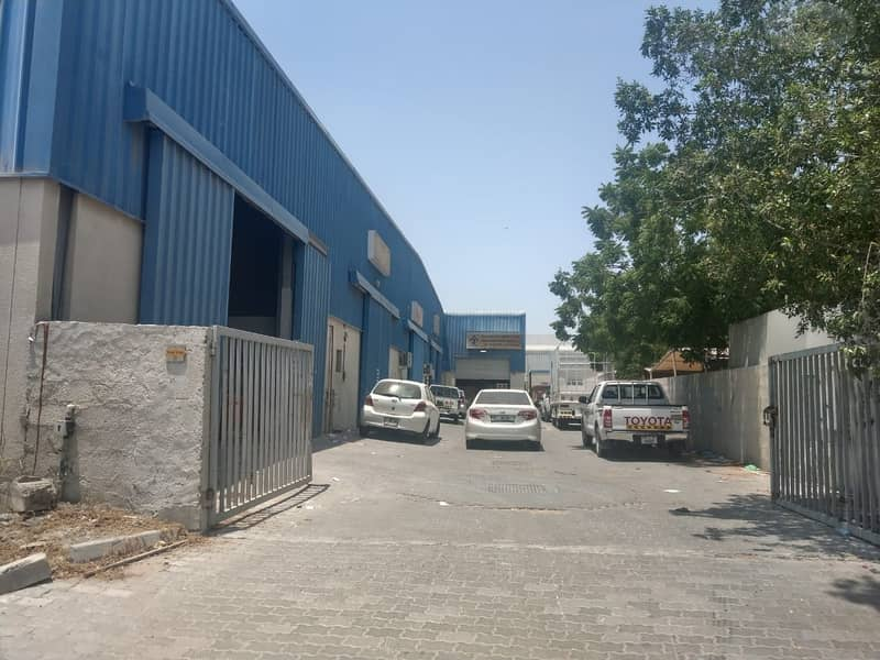 fully rented out 30000 square feet warehouse for sale in Qusais 4