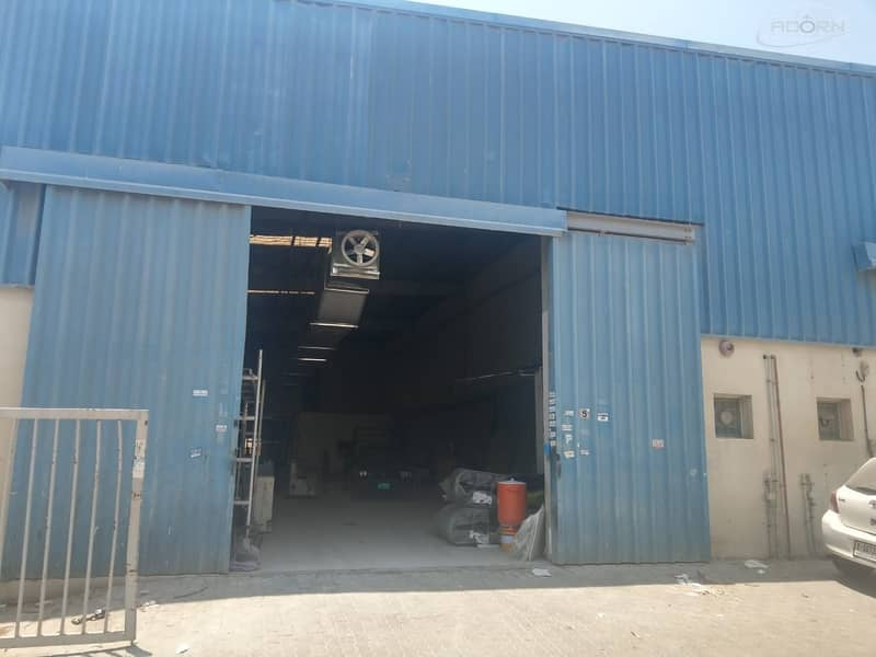 2 fully rented out 30000 square feet warehouse for sale in Qusais 4