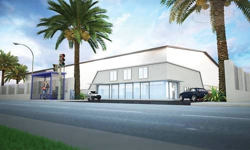 ارض صناعية  للايجار في القوز، دبي - 280000 sq ft openyard with air conditioned 55000 sq ft office for rent in Al Quoz 2