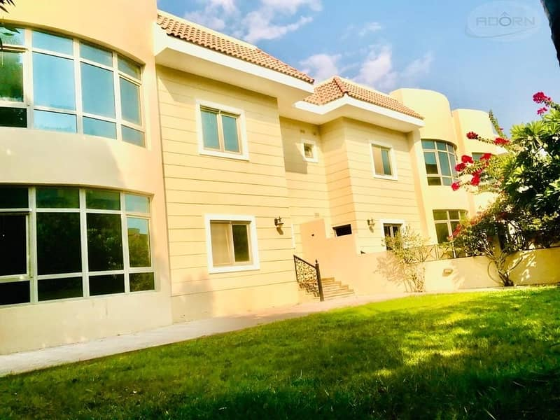 2 Spacious 5 bedroom villa with pvt garden and shared pool in Umm SUqeim 1