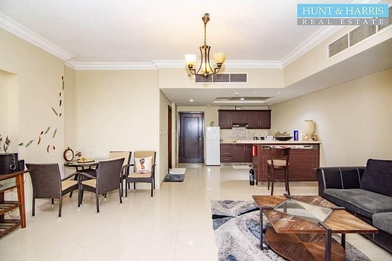 2 Furnished - Sea view with Hotel Facilities - Al Marjan Island