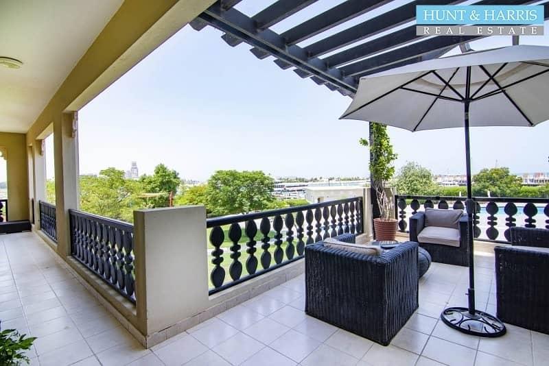 28 Big Balcony Marina Apartment - Amazing View - Maids room