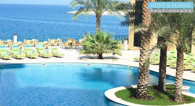25 Furnished - Sea view with Hotel Facilities - Al Marjan Island