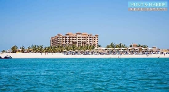 فلیٹ 1 غرفة نوم للبيع في جزيرة المرجان، رأس الخيمة - Hotel Living - 1 Bedroom - Beachfront Resort