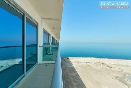 استوديو  للايجار في جزيرة المرجان، رأس الخيمة - Amazing Sea Views - Studio Apartment - Pacific  - Move in Now