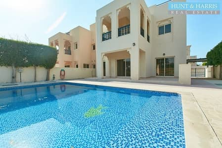 4 Bedroom Villa for Sale in Al Hamra Village, Ras Al Khaimah - Private pool