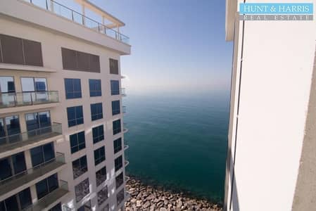 فلیٹ 1 غرفة نوم للايجار في جزيرة المرجان، رأس الخيمة - Unfurnished One Bedroom Apartment - Courtyard Views