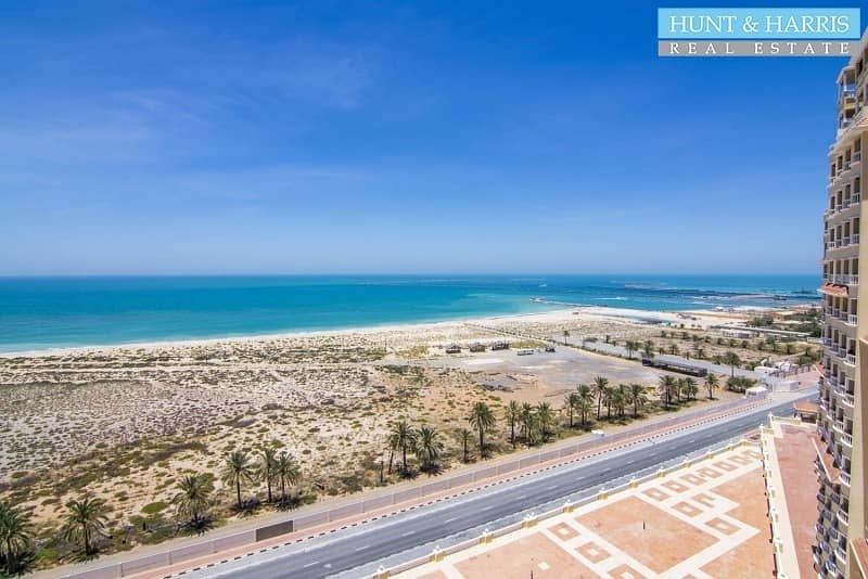 Fully Furnished -  2 Bedrooms - Amazing Sea View - High Floor