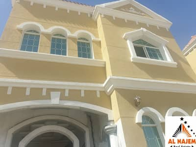 5 Bedroom Villa for Sale in Al Mowaihat, Ajman - Sale is a new villa at a nominal price in Al Mowaihat 2, opposite the Ajman Academy, with the possibility of bank or cash financing, negotiable