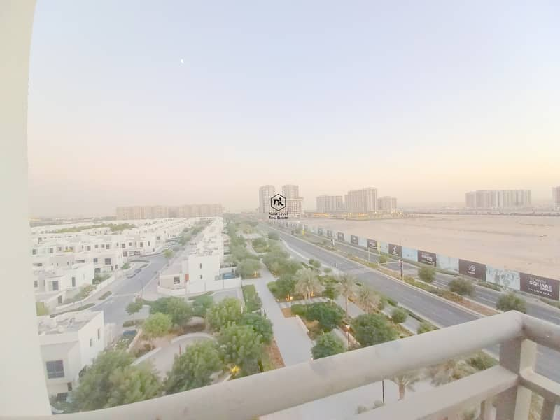 BIGGEST LAYOUT   VILLAS AND PARK VIEW   3 BED+MAID   LAUNDRY+PARKING+BALCONY   ZAHRA APARTMENTS   TOWN SQUARE