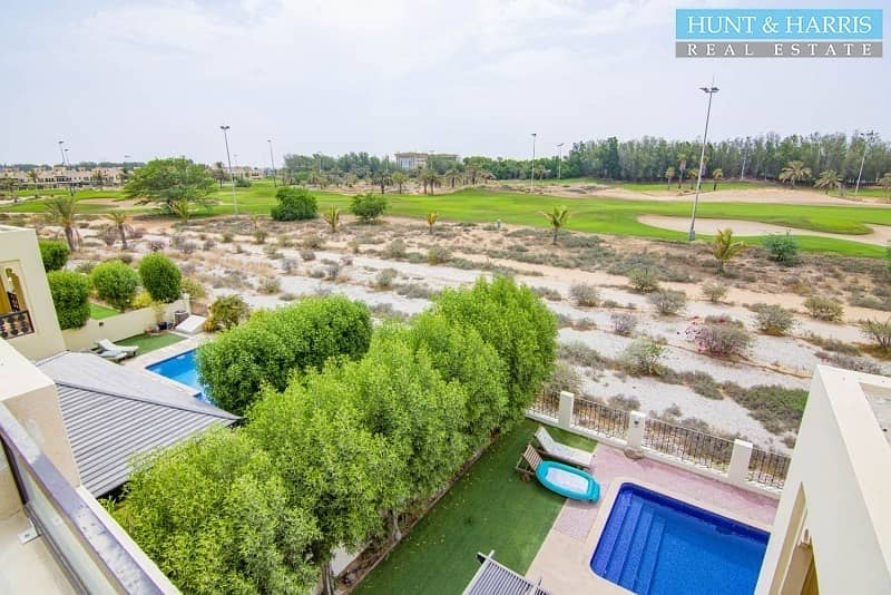 19 Fully Upgraded - 4 Bed Duplex - Private Pool - Golf Views
