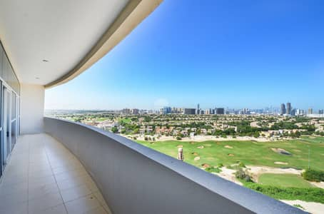 شقة 3 غرف نوم للايجار في مدينة دبي الرياضية، دبي - Amazing Duplex | Maids room | Golf Course view
