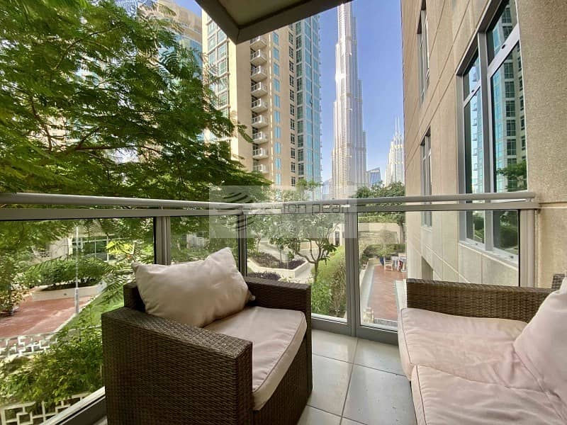 Furnished 2 Bedroom | Upgraded |Burj Khalifa View