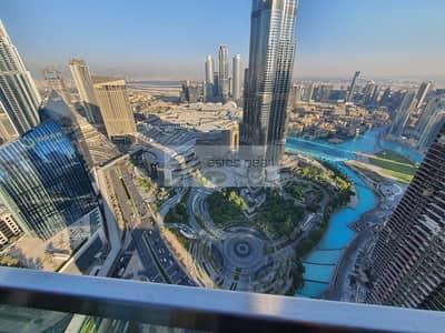 فلیٹ 3 غرف نوم للايجار في وسط مدينة دبي، دبي - Vacant| High Floor | Furnished 3 Bedrooms + Maid's
