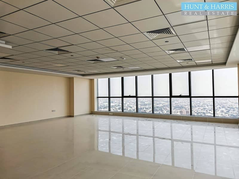 2 Office for Rent - Full Sea View - On a High Floor