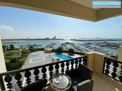 شقة 1 غرفة نوم للايجار في قرية الحمراء، رأس الخيمة - Marina view - Furnished 1 bed - Available