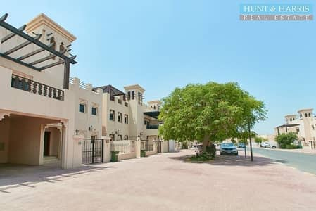 3 Bedroom Villa for Rent in Al Hamra Village, Ras Al Khaimah - Resort Style Living - Boatyard View - Private Garden