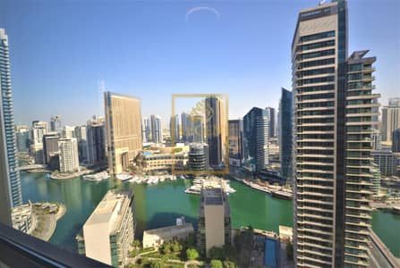 2 Bedroom Flat for Sale in Jumeirah Beach Residence (JBR), Dubai - Full Marina View Two Bedroom apartment for Rent at Bahar