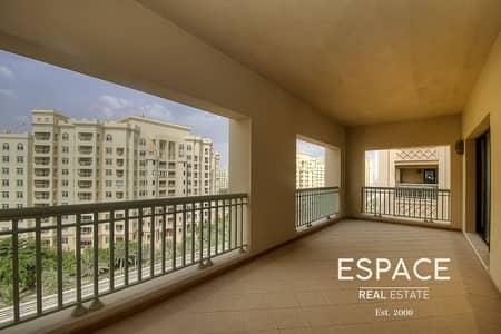 فلیٹ 3 غرف نوم للايجار في نخلة جميرا، دبي - November 15 - Elegant Type B - West Beach