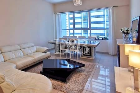 فلیٹ 3 غرف نوم للايجار في أبراج بحيرات الجميرا، دبي - Stunning View | Furnished Unit | Balcony
