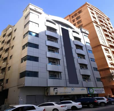 1 Bedroom Flat for Rent in King Faisal Street, Ajman - One Bedroom Hall with Balcony Central AC in King Faisal Road