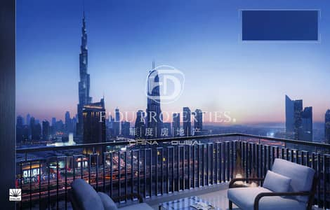 2 Bedroom Apartment for Sale in Downtown Dubai, Dubai - Priced to Sell | Bigger Size | Burj Khalifa View