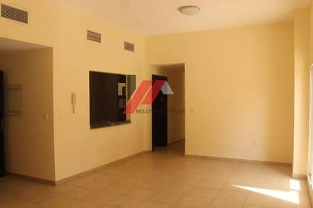 3 Bedroom Apartment for Rent in Remraam, Dubai - 3Beds Semi Close Kitchen Terrace at Podium Level