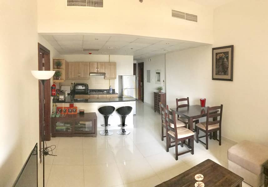 2 FURNISHED 1BR IN DSC ELITE SPORTS RESIDENCE