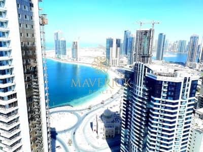 شقة 2 غرفة نوم للايجار في التعاون، الشارقة - Sea View! Brand New 2BHK | 1 Month+Parking Free