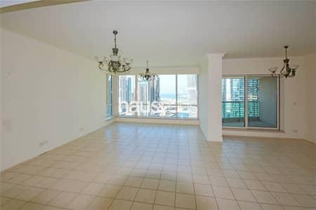 3 Bedroom Apartment for Rent in Dubai Marina, Dubai - Large layout| Superior Marina views| Utility+Maids