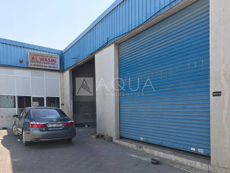 12 130 KW power | Al Qouz 2 | Small Warehouse
