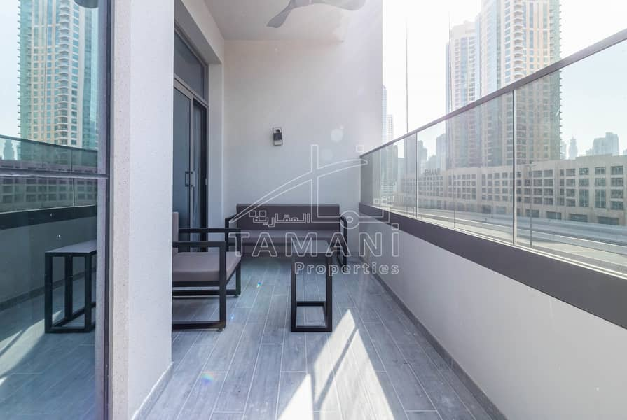 18 Spacious Brand New Luxury 2BR | Furnished