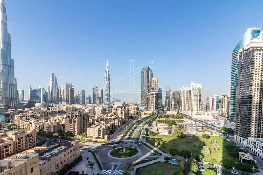 62 Upgraded | Full Burj Khalifa View | Vacant