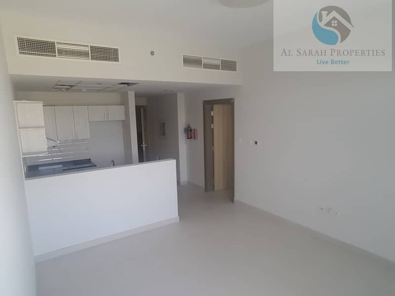 one bedroom for rent in brand new building in warsan 1 with all facilities