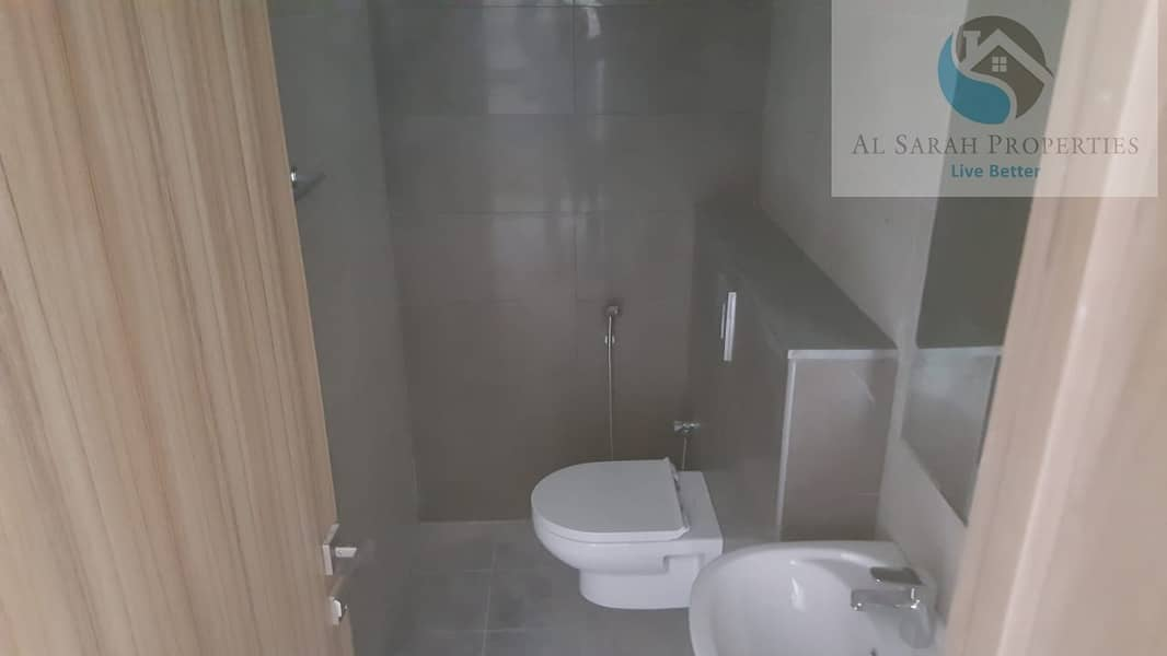 2 one bedroom for rent in brand new building in warsan 1 with all facilities
