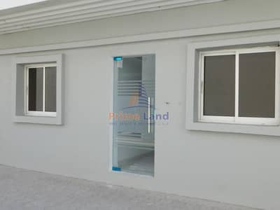 Office for Rent in Mussafah, Abu Dhabi - Brand New Ground floor Office with window